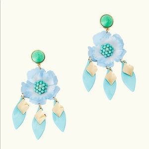 Lilly Pulitzer Garden Gem Statement Earrings